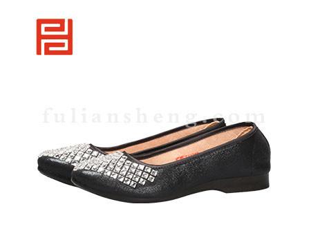 福联升布鞋女鞋FJB-511352黑色销售中