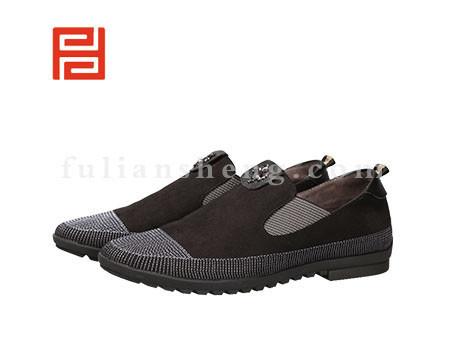 福联升布鞋男鞋FLA-502161黑色销售中
