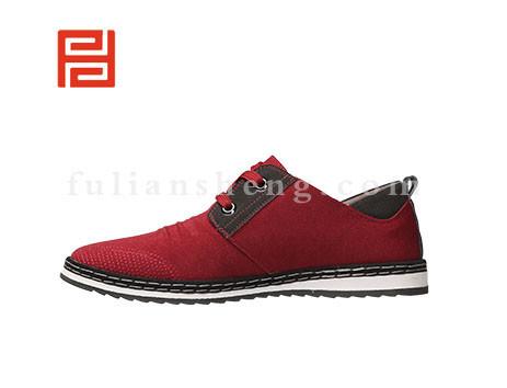 福联升布鞋男鞋FLA-502191酒红销售中图片