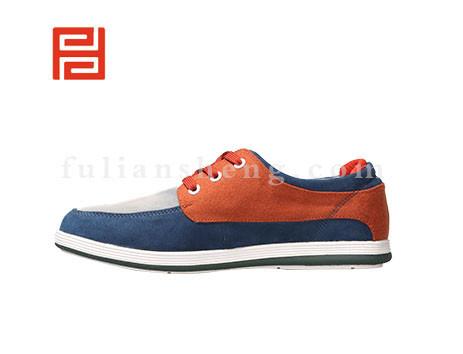 福联升布鞋男鞋FLA-502243蓝色销售中