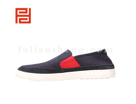 福联升布鞋男鞋FLA-511109深蓝销售中