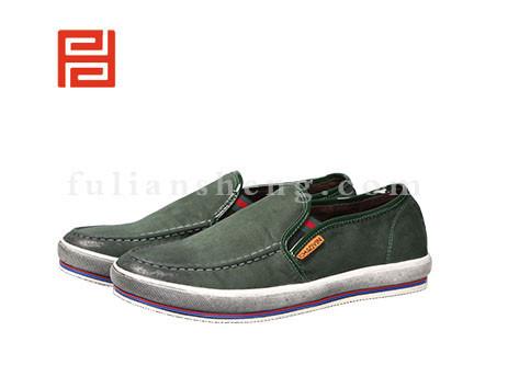 福联升布鞋男鞋FLA-512013绿色销售中