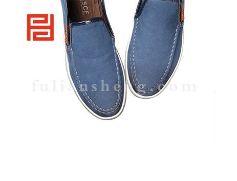 福联升布鞋男鞋FLA-512013蓝色销售中