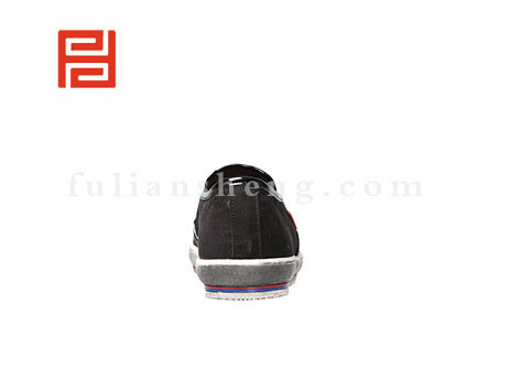 福联升布鞋男鞋FLA-512013黑色销售中图片