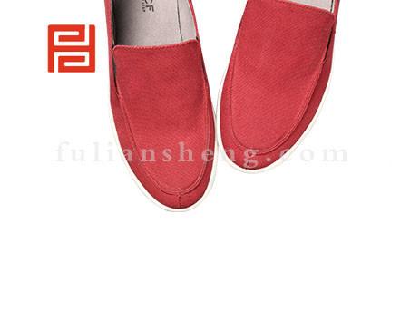 福联升布鞋男鞋FLA-512019红色销售中