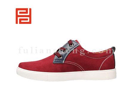 福联升布鞋男鞋FLA-512071酒红销售中