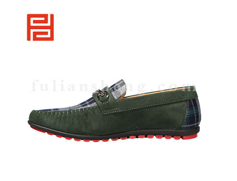 福联升布鞋男鞋FLA-512073墨绿销售中