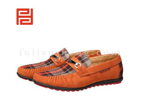 福联升布鞋男鞋FLA-512073棕色销售中