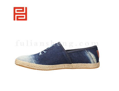 福联升布鞋男鞋FLA-512169深蓝销售中