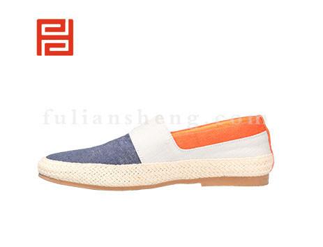 福联升布鞋男鞋FLA-512173深蓝销售中