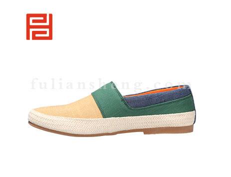 福联升布鞋男鞋FLA-512173黄色销售中