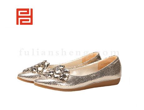福联升布鞋女鞋FLB-512196金黄销售中