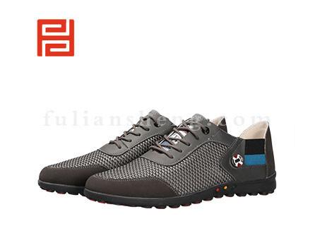 福联升布鞋男鞋FLA-521021灰色销售中
