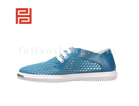 福联升布鞋男鞋FLA-521023湖蓝销售中