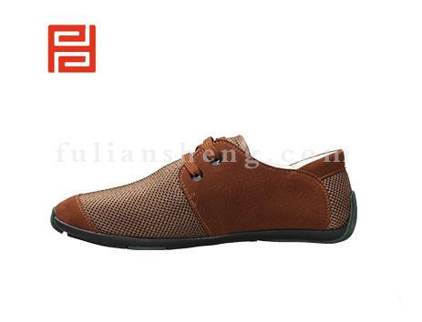 福联升布鞋男鞋FLA-521035深棕销售中