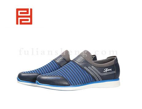 福联升布鞋男鞋FLA-522011蓝色销售中