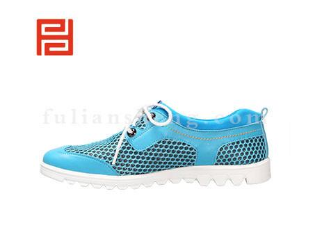 福联升布鞋男鞋FLA-522031蓝色销售中