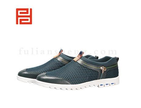 福联升布鞋男鞋FLA-522033墨绿销售中
