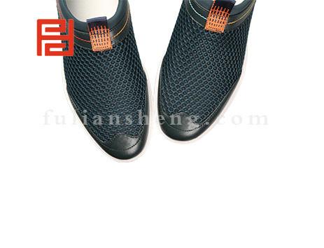 福联升布鞋男鞋FLA-522033墨绿销售中图片