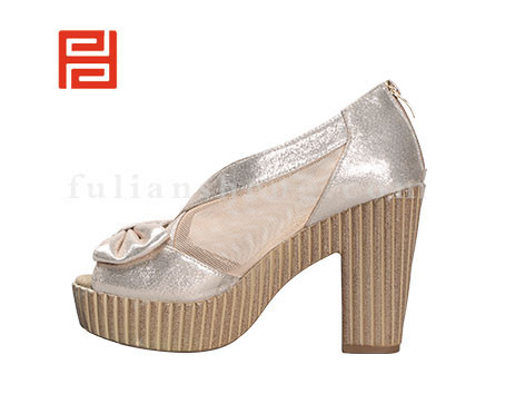 福联升布鞋女鞋FLB-522030香槟色销售中