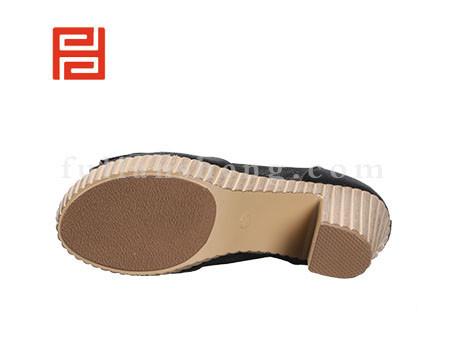 福联升布鞋女鞋FLB-522030黑色销售中