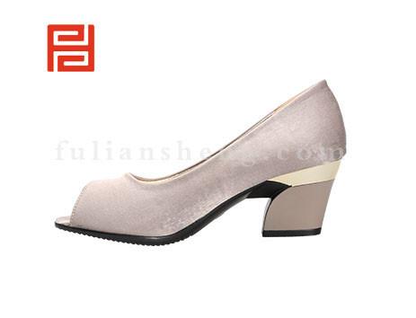 福联升布鞋女鞋FLB-522268杏色销售中