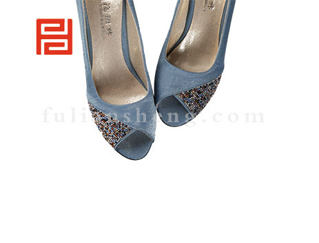福联升布鞋女鞋FLB-522268浅蓝销售中