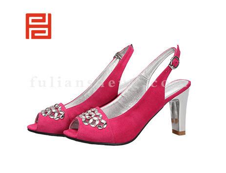 福联升布鞋女鞋FLB-522272玫瑰红销售中