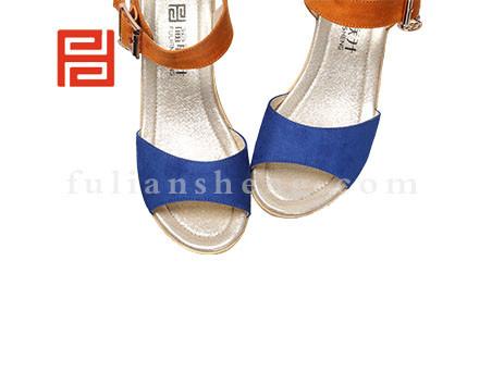 福联升布鞋女鞋FLB-531216宝蓝销售中
