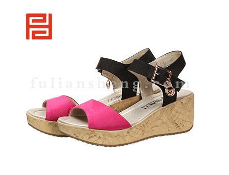 福联升布鞋女鞋FLB-531216玫瑰红销售中