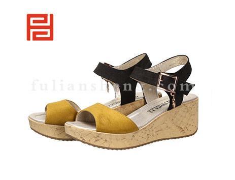 福联升布鞋女鞋FLB-531216黄色销售中