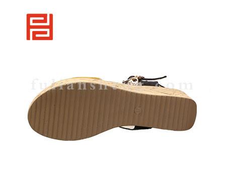 福联升布鞋女鞋FLB-531216黄色销售中图片