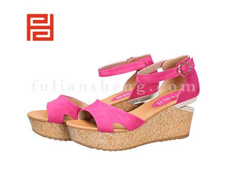 福联升布鞋女鞋FLB-532156玫瑰红销售中