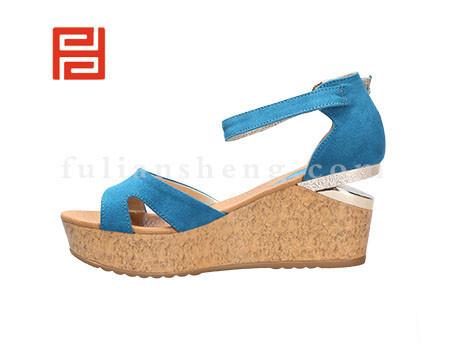 福联升布鞋女鞋FLB-532156蓝色销售中