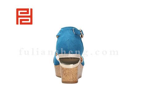 福联升布鞋女鞋FLB-532156蓝色销售中图片