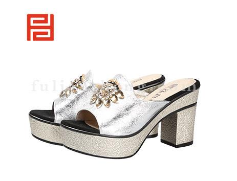 福联升布鞋女鞋FLB-532160银白销售中