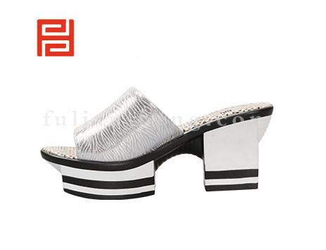 福联升布鞋女鞋FLB-532162银白销售中