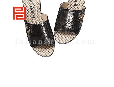 福联升布鞋女鞋FLB-532162黑色销售中图片