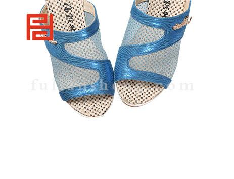 福联升布鞋女鞋FLB-532166蓝色销售中