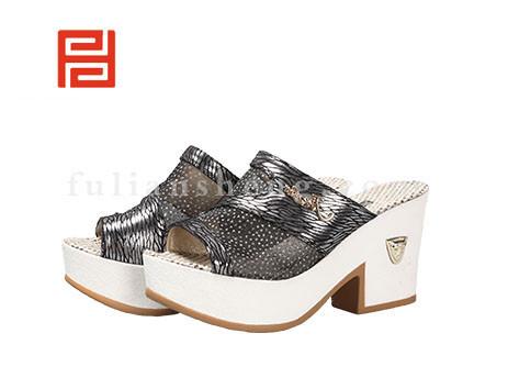 福联升布鞋女鞋FLB-532166黑色销售中