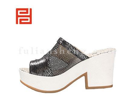 福联升布鞋女鞋FLB-532166黑色销售中图片