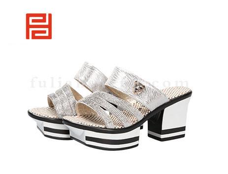 福联升布鞋女鞋FLB-532168银白销售中