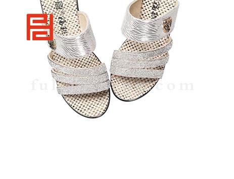 福联升布鞋女鞋FLB-532168银白销售中图片