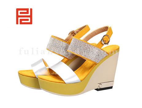 福联升布鞋女鞋FLB-532176黄色销售中