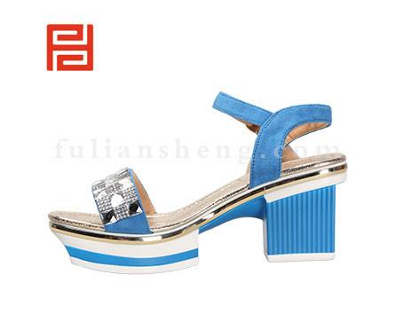 福联升布鞋女鞋FLB-532180蓝色销售中