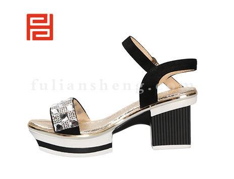 福联升布鞋女鞋FLB-532180黑色销售中