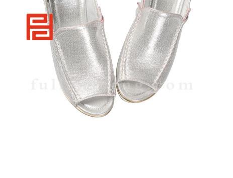 福联升布鞋女鞋FLB-532186银白销售中图片