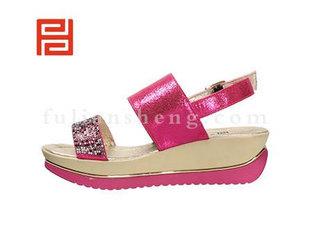福联升布鞋女鞋FLB-532228玫瑰红销售中