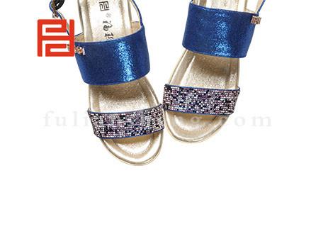福联升布鞋女鞋FLB-532228蓝色销售中图片
