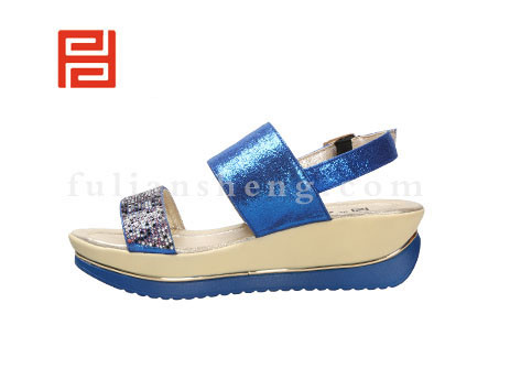 福联升布鞋女鞋FLB-532228蓝色销售中